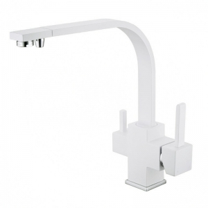 Rolya White 3 way Water Filter Taps