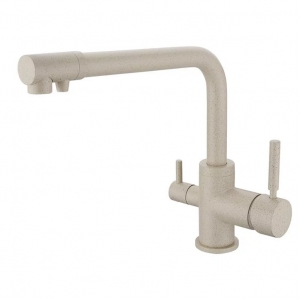 rolya sandbeige purified kitchen faucet granite 3 way water filter taps