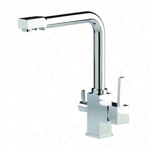 Rolya 3 Way All In One Mixer Tap Kitchen Faucet